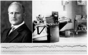 Ганс Бергер и запись ЭЭГ в 1926 г.