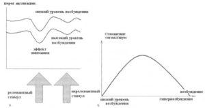 Глобальный эффект уровня бодрствования и локальный эффект внимания