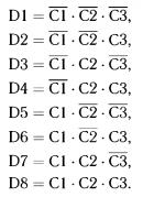 восемь уравнений алгебры логики