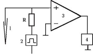Принцип подключения генератора через последовательное сопротивление
