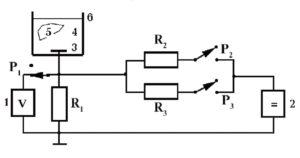 Принципиальная схема блока калибровки сигналов